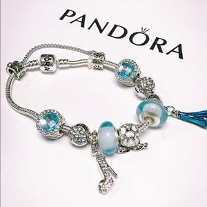 Tuesday sale! Pandora Disney frozen charm bracelet